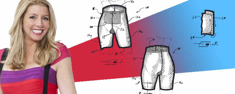 Sara Blakely Patents For Shapewear and Undergarments