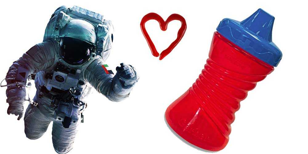 Patented Valve in Space and Gerber Sippy Cups